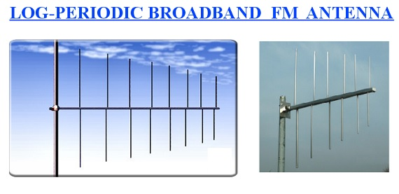 LOG PERIODIC FM ANTENNAS